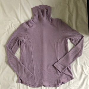 NWT Anthropologie lavender turtle neck sweater